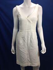 Hugo Boss White Cotton SMALL dress Classic Summer