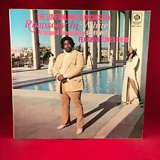 BARRY WHITE LOVE UNLIMITED ORCHESTRA  Rhapsody In White 1974 UK Vinyl LP EXCELL