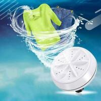Mini Waschen Waschmaschine Waschmaschine Tragbare Rotierende-Ultraschall-Turbine