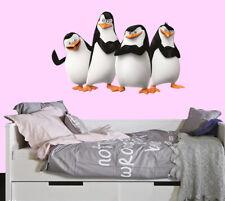 Penguins of Madagascar LARGE VINYL WALL STICKER DECALS CHILDREN 6