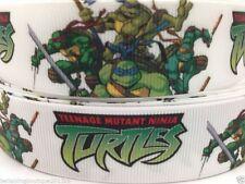 """Teenage mutant ninja turtles large 1"""" neuf uk vendeur gratuit p&p"""