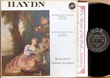 VOX Haydn HUNGARIAN STRING QUARTET #67 & #82 PL 12.080