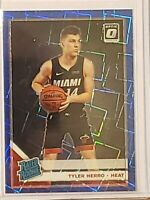 2019-20 Donruss Optic Basketball RC SP Tyler Herro Blue Velocity Heat Kentucky