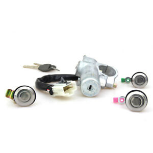 Ignition Switch Cylinder Steering Lock Fit 1998-01 Nissan Datsun 720 D22 Pickup