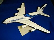 MALAYSIA AIRLINES A380-841 DRAGON WINGS CORPORATE MODEL DRW56409 RARE PRE-OWNED