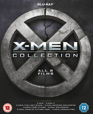X-Men Collection (8 Films) (Blu-ray) Hugh Jackman, Patrick Stewart