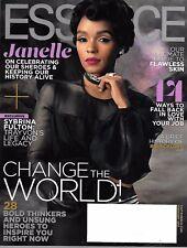 ESSENCE Magazine February 2017 JANELLE MONAE, Trayvon's Mom - Sybrina Fulton