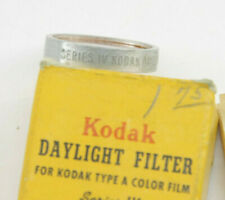 Kodak - Series IV Wratten No85 for Type A Daylight Filter with Case - Used - W95