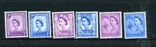 Great Britain - Colonies - Great selection of 6 MH Stamps