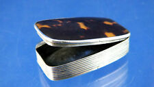 Vintage Silver Georgian Fire Steel Tinder Box Lighter 1800s Briquet Feuerzeug
