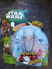 NEW STAR WARS FIGHTER PODS RAMPAGE SERIES 4 WITH SPINFIRE LAUNCHER 4-PACK