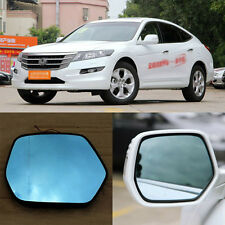 Rearview Mirror Blue Glasses LED Turn Signal with Heating For Honda Crosstour