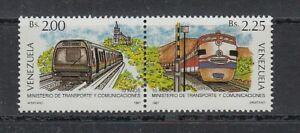 Eisenbahn - Lokomotiven   Venezuela  2444 + 2449  **  (mnh)