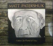 CD MATT PATERSHUK - i was so fond of you, neu - ovp