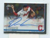 Adam Cimber 2019 Topps Chrome Rookie Auto Autograph RA-AC Cleveland Indians