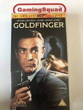 007 Goldfinger VHS Video Retro, Supplied by Gaming Squad