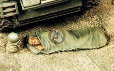 Verlinden 1/35 US Soldier in Sleeping Bag with M1 Helmet atop [Resin Figure] 191