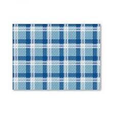 500 Tovagliette blu scozzese  30x40 sottopiatto carta monouso ristorante