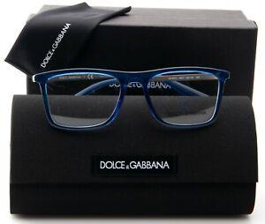 NEW D&G Dolce & Gabbana DG 5023 3068 TRANSPARENT GREEN EYEGLASSES 52-18-145mm