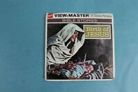VINTAGE VIEW-MASTER 3D REEL PACKET B875 BIRTH OF JESUS COMPLETE
