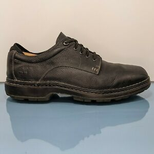 TIMBERLAND Mens 12W Wide Black Leather Madison Summit Oxfords Dress Casual Shoes