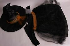 NWT Pottery Barn Kids Baby Witch Tutu Halloween costume 12-24 month 18 dress hat