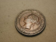 1882H Canada One Cent Extra Fine  #KM7