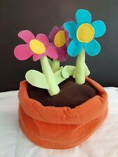 IKEA Bucket Flower Pot Hat Orange Plush Rare