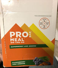 12 Ct Pro Bar 9g Protein Superberry And Greens BB 01/14/22 Free US SHIP ProBar