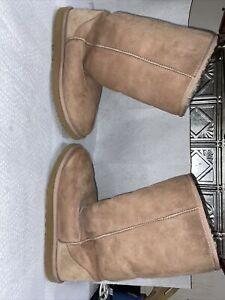 Ugg Australia Sheepskin Boots Women's Size 8