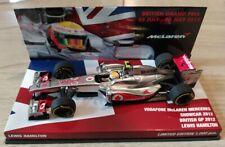 New listing F1 1/43 mclaren mercedes showcar 2012 hamilton british gp 2012 minichamps