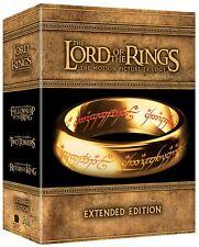 Señor. de la trilogía de los anillos extendida y Blu-Ray - LNS