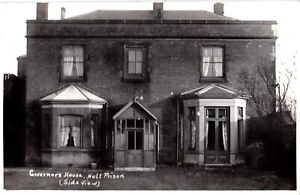 1910 RP POSTCARD: GOVERNORS HOUSE, HULL PRISON, EAST RIDING OF YORKSHIRE