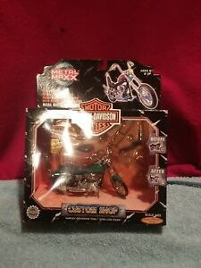 NEW Metal Maxx Harley Davidson FXDL Dyna Low Rider Motor Cycle 1:20