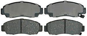 Frt Ceramic Brake Pads  ACDelco Advantage  14D787CH