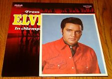ELVIS FROM ELVIS IN MEMPHIS ORIGINAL LP WITH BONUS PHOTO AND INSERT 1969
