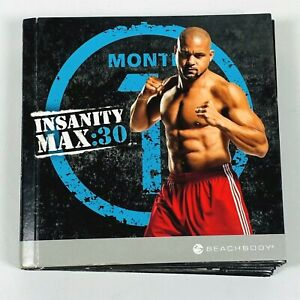 Insanity Max :30 The Workouts 10 DVD Set Complete Months 1 & 2 Shaun T