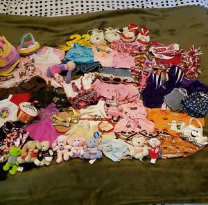 Lot of Build a Bear BAB Clothes and Accessories Mixed Lot of Various Styles Ages