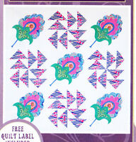 Clearance - My Jacobean Delight Quilt - applique & pieced quilt PATTERN