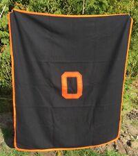 Vtg College WOOL Football Stadium Bleacher Throw Blanket OREGON BEAVERS
