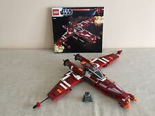 Lego 9497 Star Wars Republic Striker-Class Starfighter. Discontinued Set.