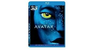 Avatar 3D (Blu-Ray, Region Free, Panasonic Exclusive Release) BRAND NEW SEALED
