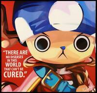 ❤️ One Piece - Chopper POP ART canvas Quote wall decal photo painting