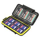 JJC MC-SD6CF3 Tough Memory Card Case Protector for 6xSD  3xCF MoistureResistant