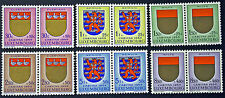 LUXEMBOURG timbres/Stamps Yvert et Tellier n°570 à 575 (x2) n** (cyn8)