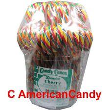 Grosse Zuckerstangen: Spangler Eimer mit 160 BIG Candy Canes CHERRY (24,55€/kg)