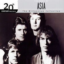 The Best of Asia, 20th Century Masters Millennium Collection 2003 CD. New Sealed