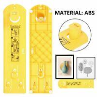 DIY Photo Hanging Kit Picture Frame Hanger with Level Ruler Measuring Tool