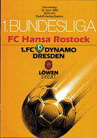 BL 91/92 Dynamo Dresden - FC Hansa Rostock, 16.04.1992