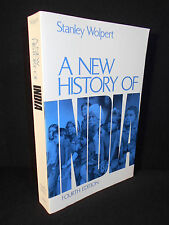 A New History of India by Stanley A. Wolpert (1993, Paperback)